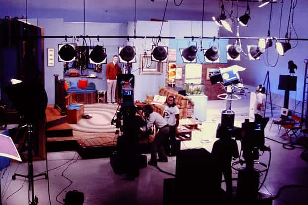 The set of Mister Rogers' television house.
